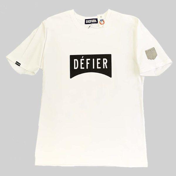 DEFIER Tシャツ WHITE正面イメージ