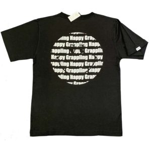 Defier オリジナルTシャツ Happy Grappling スマイリー背面イメージ