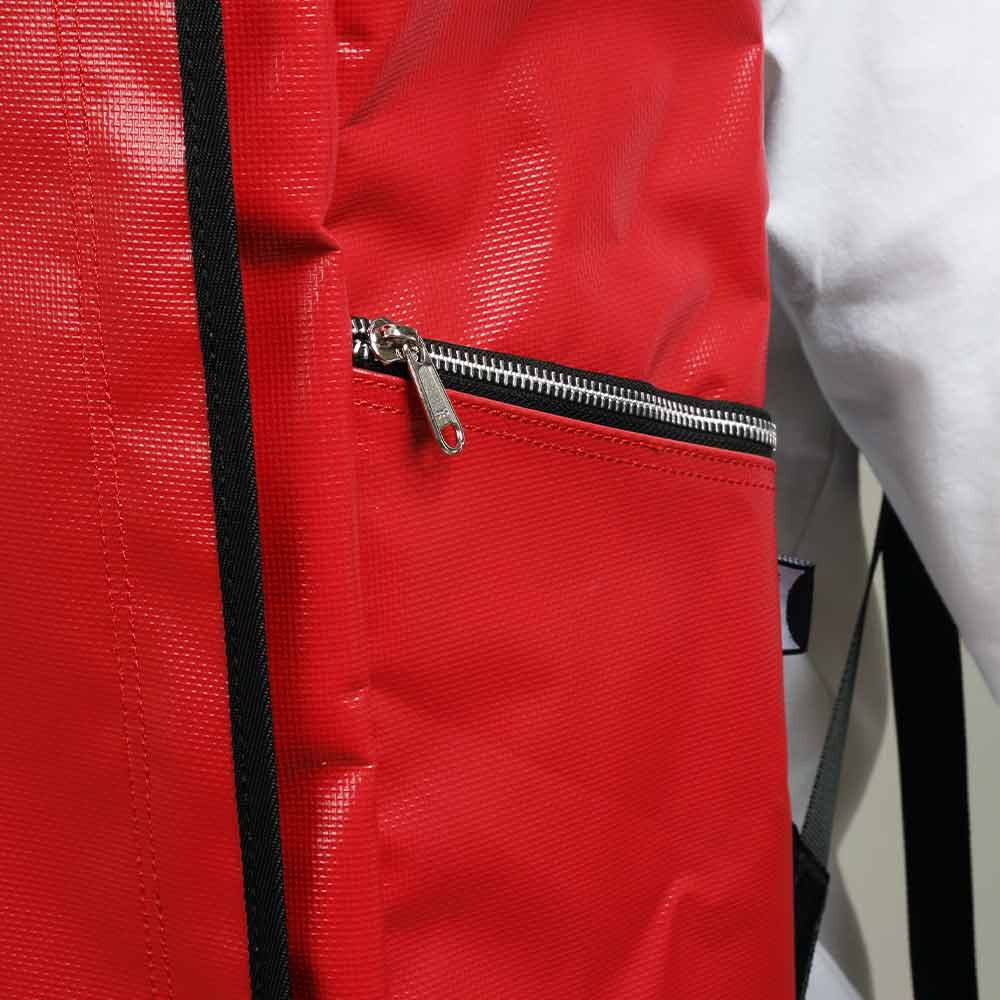 DEFIER-DAY-BAG-サイドジッパー付きポケット