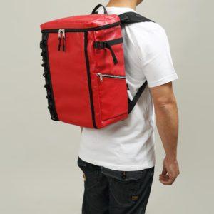 DEFIER DAY BAG -RED-赤- Mサイズ 使用例