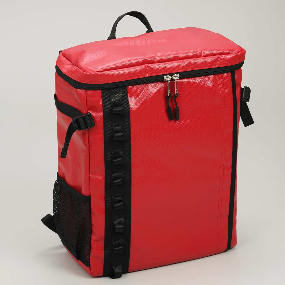 DEFIER DAY BAG - RED-赤