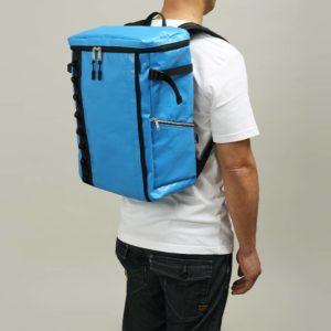 DEFIER DAY BAG -BLUE- 青- Mサイズ 使用例