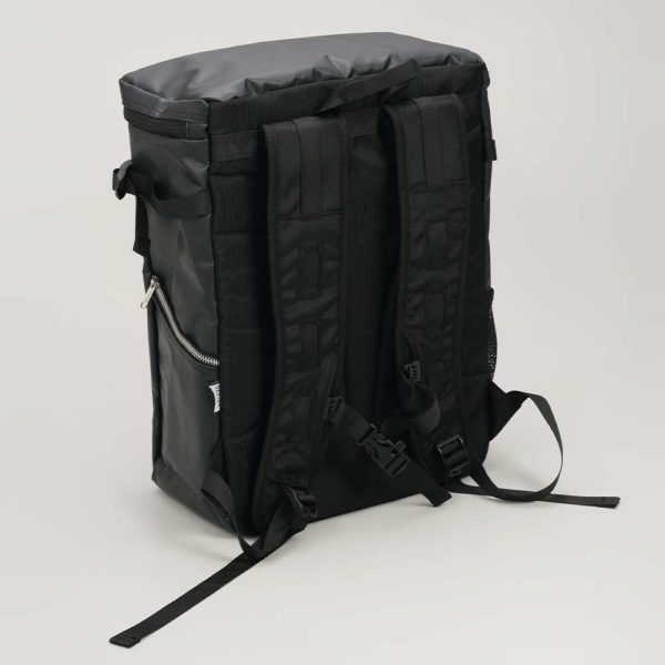 DEFIER DAY BAG -BLACK- 黒- 背中側