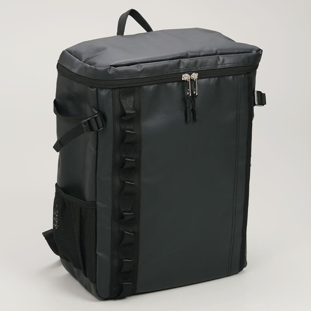 DEFIER DAY BAG -BLACK- 黒- 表側