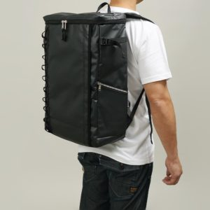DEFIER DAY BAG -BLACK- 黒- Lサイズ 使用例