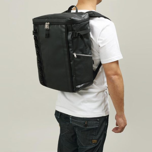 DEFIER DAY BAG -BLACK- 黒- Mサイズ 使用例