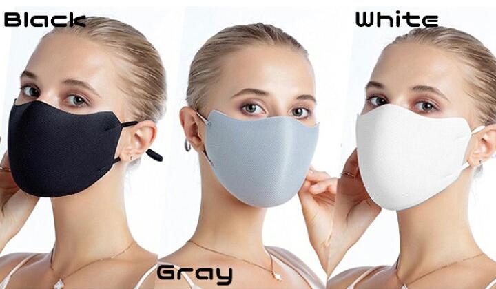 レース&立体マスク