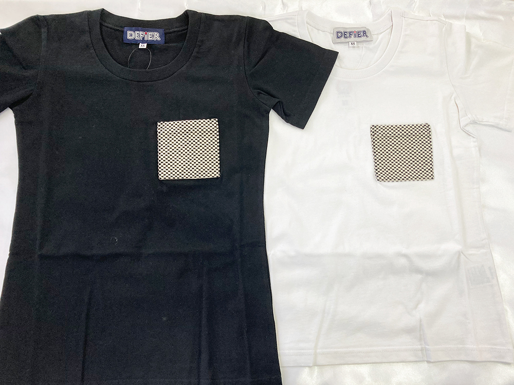 刺子ポケットTシャツ