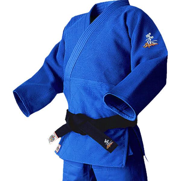 [IJF公認マーク付き] HIDEYOSHI (秀吉) BLUE 上衣