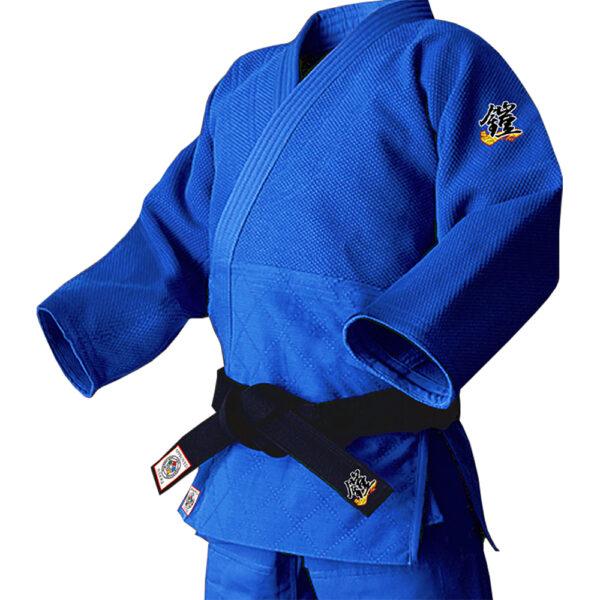 [IJF公認マーク付き] YOROI NOBUNAGA (鎧信長) BLUE 上衣