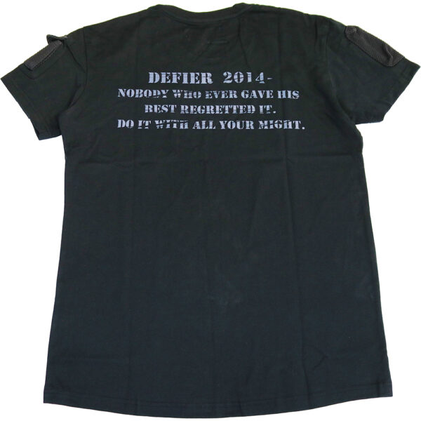 MA1 Tシャツ 黒 裏