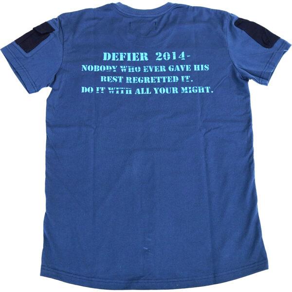 MA1 Tシャツ 紺 裏