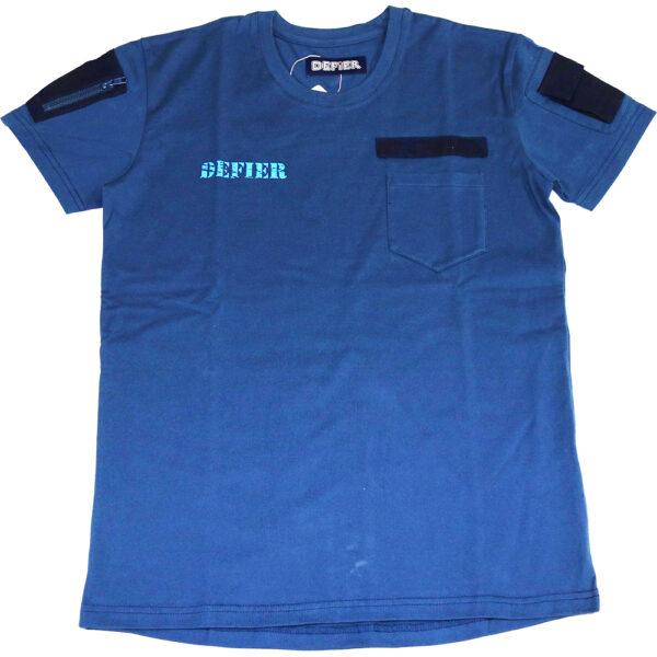 MA1 Tシャツ 紺 表