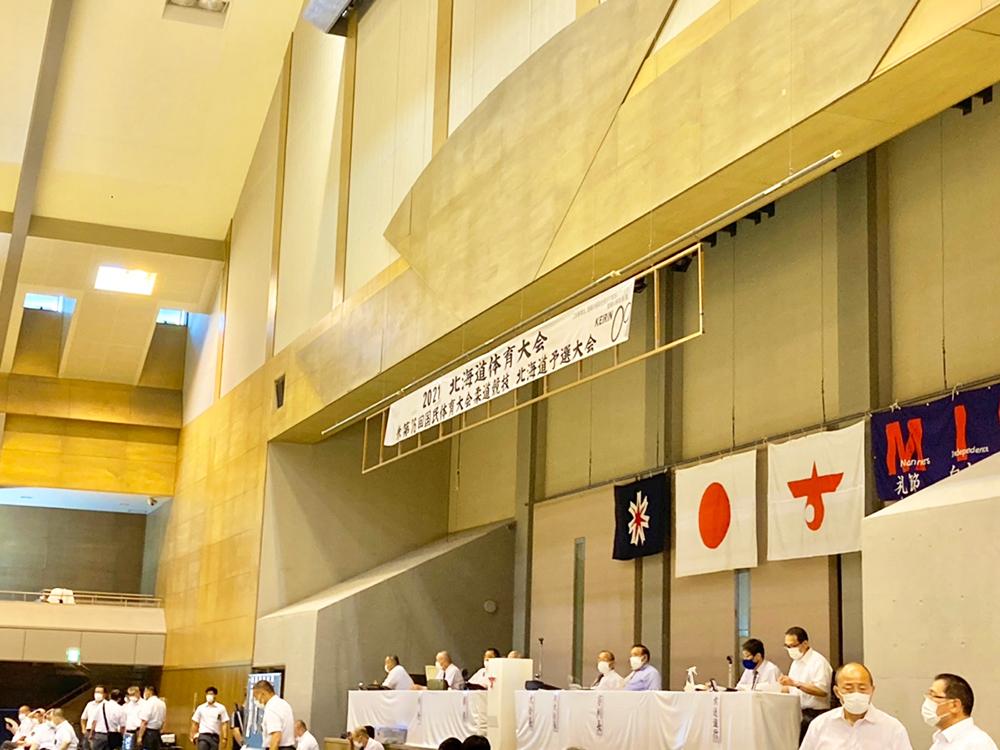 7月25日 国民体育大会 北海道予選大会